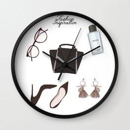 Fashion essentials Wall Clock