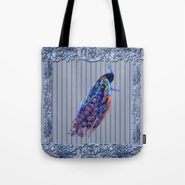 Splendor Peacock Fantasy Victorian Accents Tote Bag