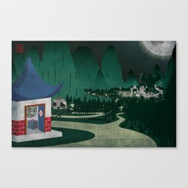 Four of Seven Canvas Print