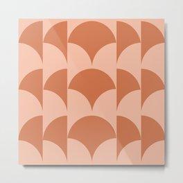 Cleo Pattern - Sunset Metal Print