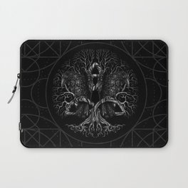 Tree of life -Yggdrasil with ravens Laptop Sleeve