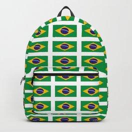 flag of brazil 4-Brazil, flag, flag of brazil, brazilian, bresil, bresilien, Brasil, Rio, Sao Paulo Backpack