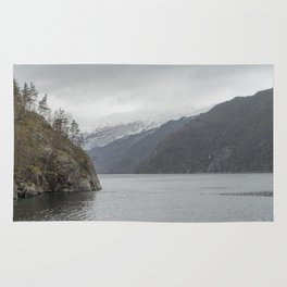 Lake in Norway Rug