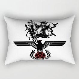 The Satanic Eagle Rectangular Pillow