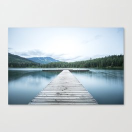 Floating Fun Canvas Print