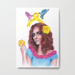 Snow White II | Endometriosis awareness Metal Print