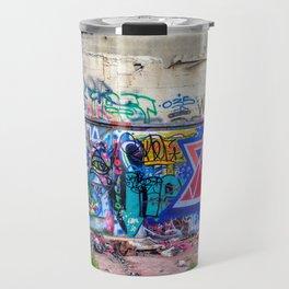 Tel Aviv Street Art Jewish Star Travel Mug