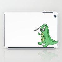 dino iPad Cases featuring DINO by luisa.veloso