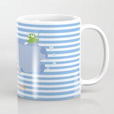 h for hippo Mug