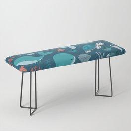 Sea creatures 004 Bench