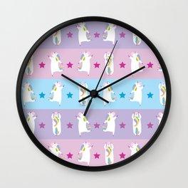Unicornssssssss! Wall Clock