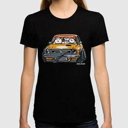 Crazy Car Art 0153 T-shirt