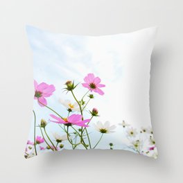 COSMOS -Pink I Throw Pillow