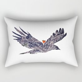 Blackbird singing in the dead of night, and all the memories my heart has for that song. Rectangular Pillow