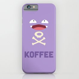 Koffee iPhone Case