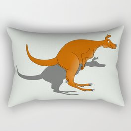 Kangaroo Rectangular Pillow