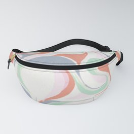 Abstract print design Fanny Pack