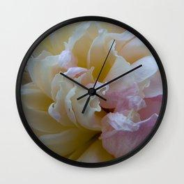 Peony Heaven Wall Clock