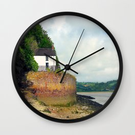 Dylan Thomas.The Boathouse. Wall Clock