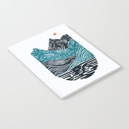 ABSTRACTED LANDSCAPE Notebook