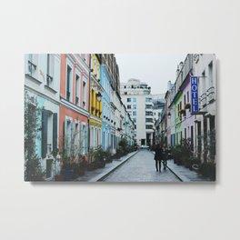 Rue Crémieux Photoshoot Metal Print