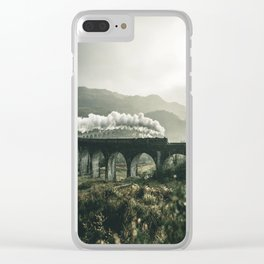 Glenfinnan Viaduct - Scotland -  Fine Art Landscape Photograph Clear iPhone Case