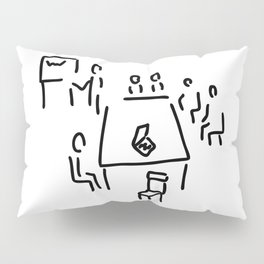 meeting with presentation occupation Pillow Sham