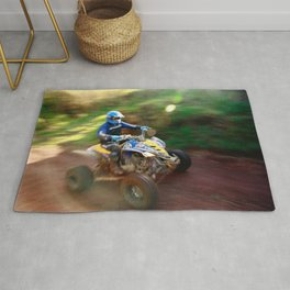 ATV offroad racing Rug