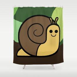 Cutesy Crawlies — Snail Shower Curtain