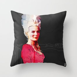 Kirsten Dunst as Marie Antoinette Throw Pillow