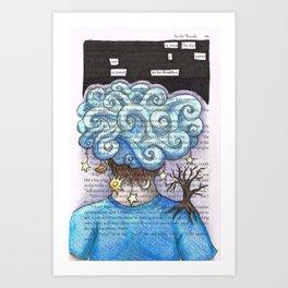 One. Art Print
