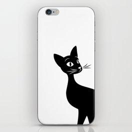 Meow Elegance iPhone Skin