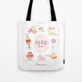 Paris Patisserie Tote Bag