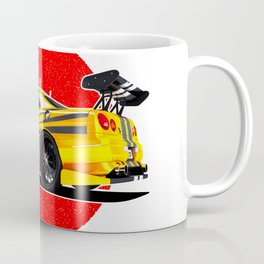 Sports car Japanese style. Coffee Mug