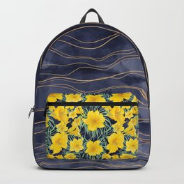Precious indigo waters Backpack