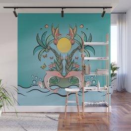 Tropical Island Wall Mural