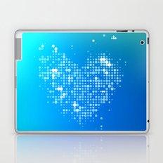 Heart2 Blue Laptop & iPad Skin