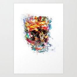 King Dusty Art Print