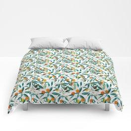 Orange Summer Comforters