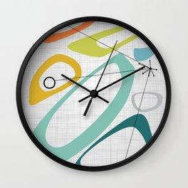 Mid Century Modern Art 01 Wall Clock