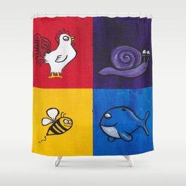 Highnimals Shower Curtain