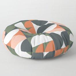 Mid Century Geometric 16 Floor Pillow