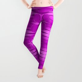 Pattern with pink Leggings