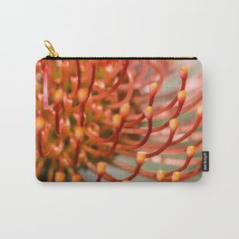 Exotic Pin Cushion Protea Flower- Botanical Photography #Society6 Carry-All Pouch