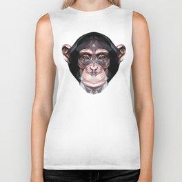 Chimpanzee Biker Tank