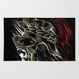 Roman Skull Rug