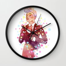 Janelle Monae's Neon Dream Wall Clock