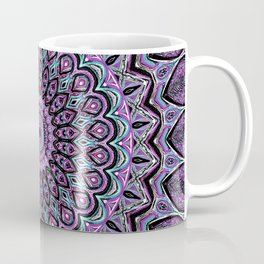 Blackberry Bliss - Mandala Art Coffee Mug