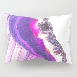 Druze violet agate Pillow Sham