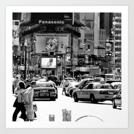 New York Times Square Art Print